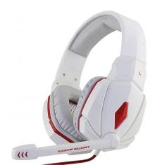 金河田 X6台式电脑耳机头戴式重低音游戏耳麦带话筒