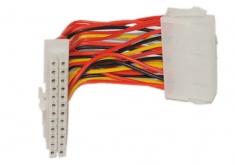电源24针转20孔转接线