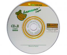 正品香蕉 CD VCD空白A级刻录盘10片-50片装