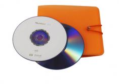 时尚多彩 光盘袋 12片装 扣子包 双面 pp袋 光盘包