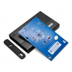 元谷存储巴士X250 2.5寸SATA usb3.0全铝超小轻便移动硬盘盒