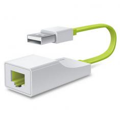 TP-LINK  TL-UF210有线usb接口网卡免驱外置usb转网线rj45转换器