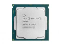英特尔G4560正品散片 3.5G主频LGA1151接口7代CPU