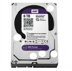 全国联保正品西部数据WD 6TB紫盘  SATA6Gb/s 64M 监控硬盘