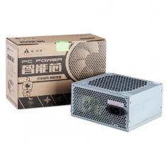 金河田智能芯3700 额定300W台式机电脑主机机箱电源12cm静音风扇带6P显卡供电