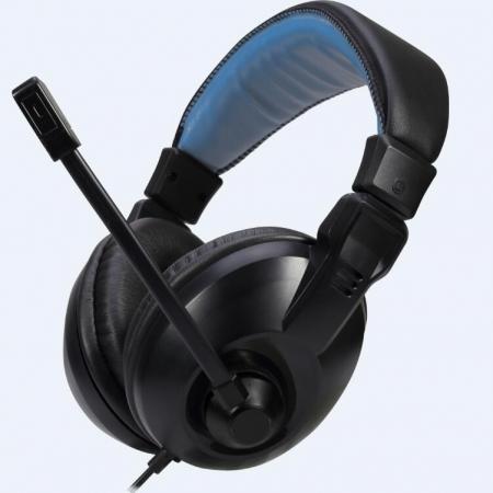 金河田A-130耳机电脑游戏高保真立体声耳机耳麦手机带语音功能