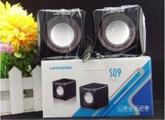 蓝悦S09 迷你便携USB2.0小音响 笔记本小音箱 迷你小方块音箱