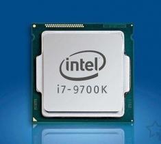 英特尔酷睿 i7-9700k CPU散片处理器 8核8线程台式机电脑CPU 9700K