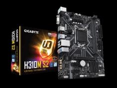 Gigabyte/技嘉H310M-S2 2.0主板DDR4内存支持第8代9代CPU支持WIN7