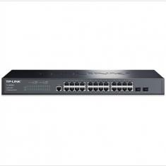 TP-LINK TL-SG3226 24口千兆2口光纤SFP 二层网管中心交换机