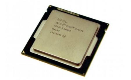 英特尔i5-4570 CPU 散片正式版1150 配H81 B85