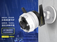 TP-LINK TL-IPC62AS-4双频200万智能H.265全彩无线音频网络摄像头