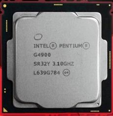 Intel/英特尔 G4900 散片 八代 CPU 1151针