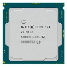 Intel/英特尔 I3 9100 散片cpu处理器核显i3