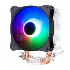 金河田冰影 CPU散热器 4铜管I5 i7台式机电脑AMD静音 cpu风扇