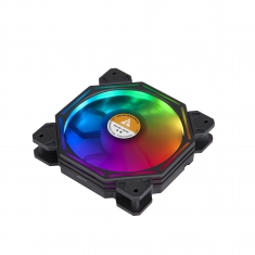 金河田机星钻F01RGB炫彩12CM静音风扇网吧散热游戏机箱风扇台式机