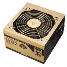 金河田GF700G 金牌电源额定700W电脑电源台式机静音主机电源500w