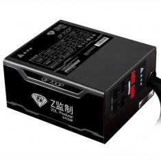 金河田Z监制GF700P白金版额定700W宽幅主动电脑台式主机游戏电源